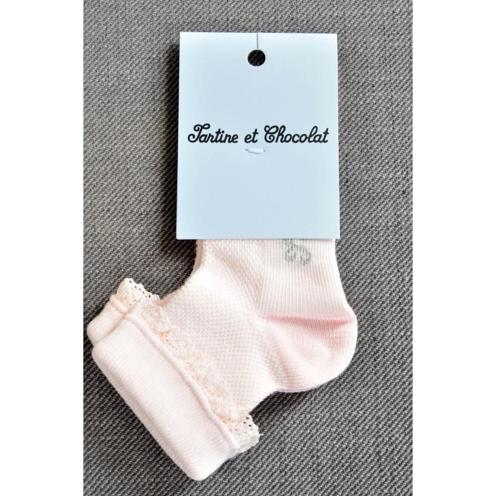 Κάλτσες Ροζ Tartine et Chocolat