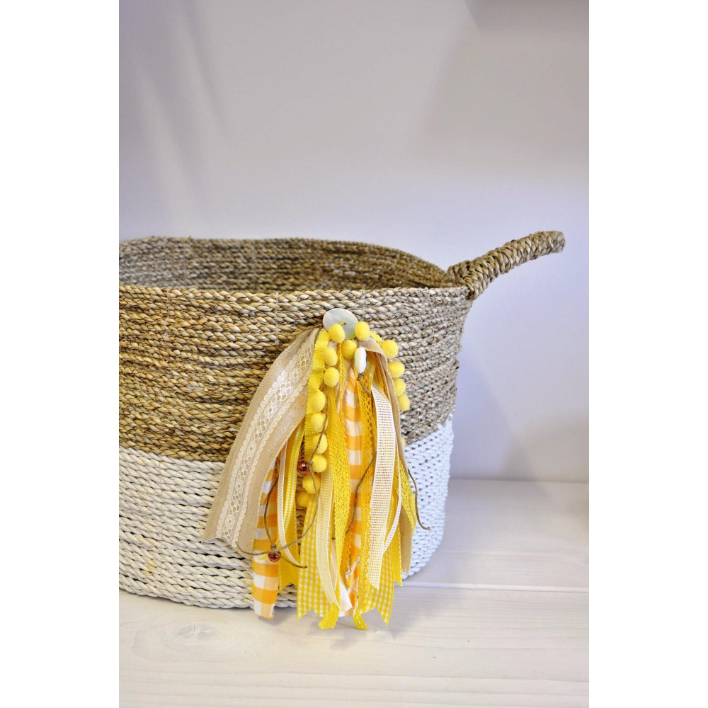 Κουτί Βάπτισης Handmade Basket #3