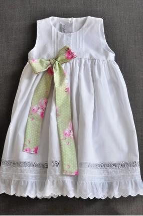 f9774f6d6422 Χειροποίητο Φόρεμα Βάφτισης Ribbon Chic