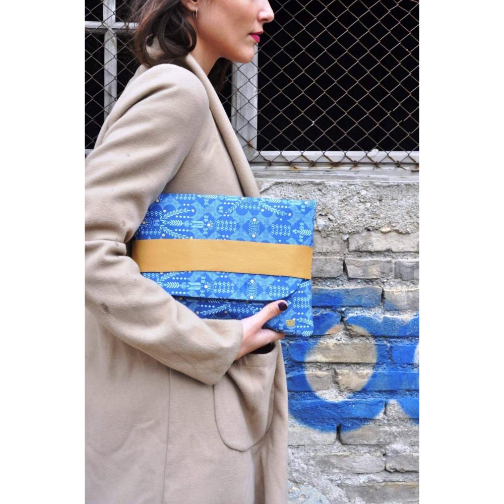 Χειροποίητη Τσάντα-Φάκελος My Perfect Folder Purse