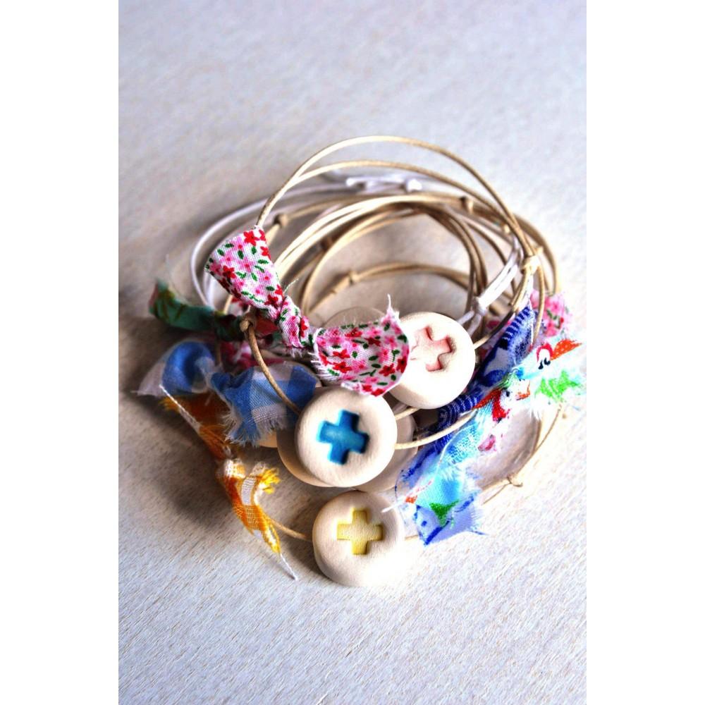 Μαρτυρικά Κεραμικά Βραχιόλια Ceramic Rainbow Bracelets II