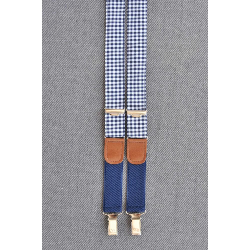 Τιράντες Petit Carreau in Blue