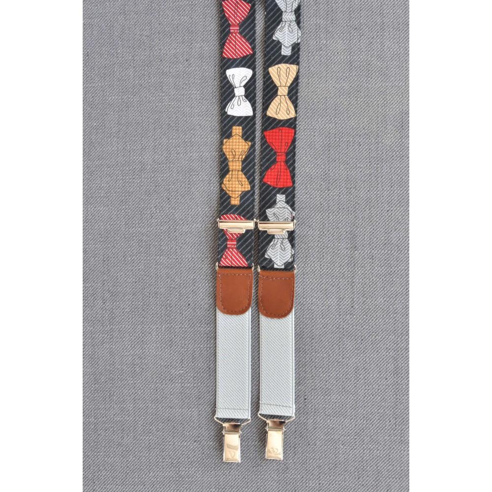 Τιράντες Bow Tie Suspenders