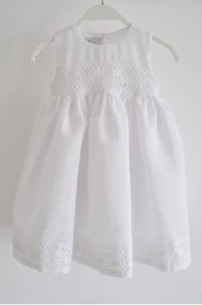 Χειροποίητο Φόρεμα Βάφτισης Linen Dress 998adebbb3a