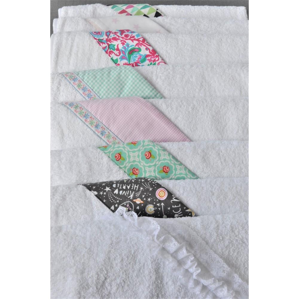 Πετσέτα - Μπουρνούζι Pink Stars