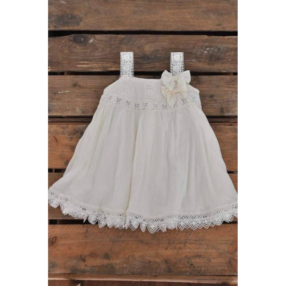 Vestido Entredos ΙΙ Ivory