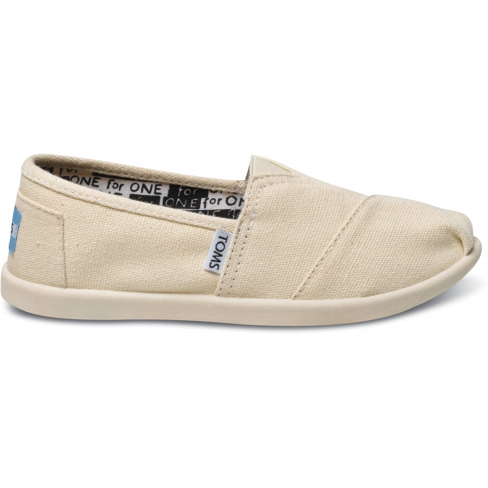 Παπούτσια TOMS Natural Canvas