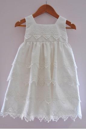 3c2def37a8e1 Χειροποίητο Φόρεμα Βάπτισης Damask