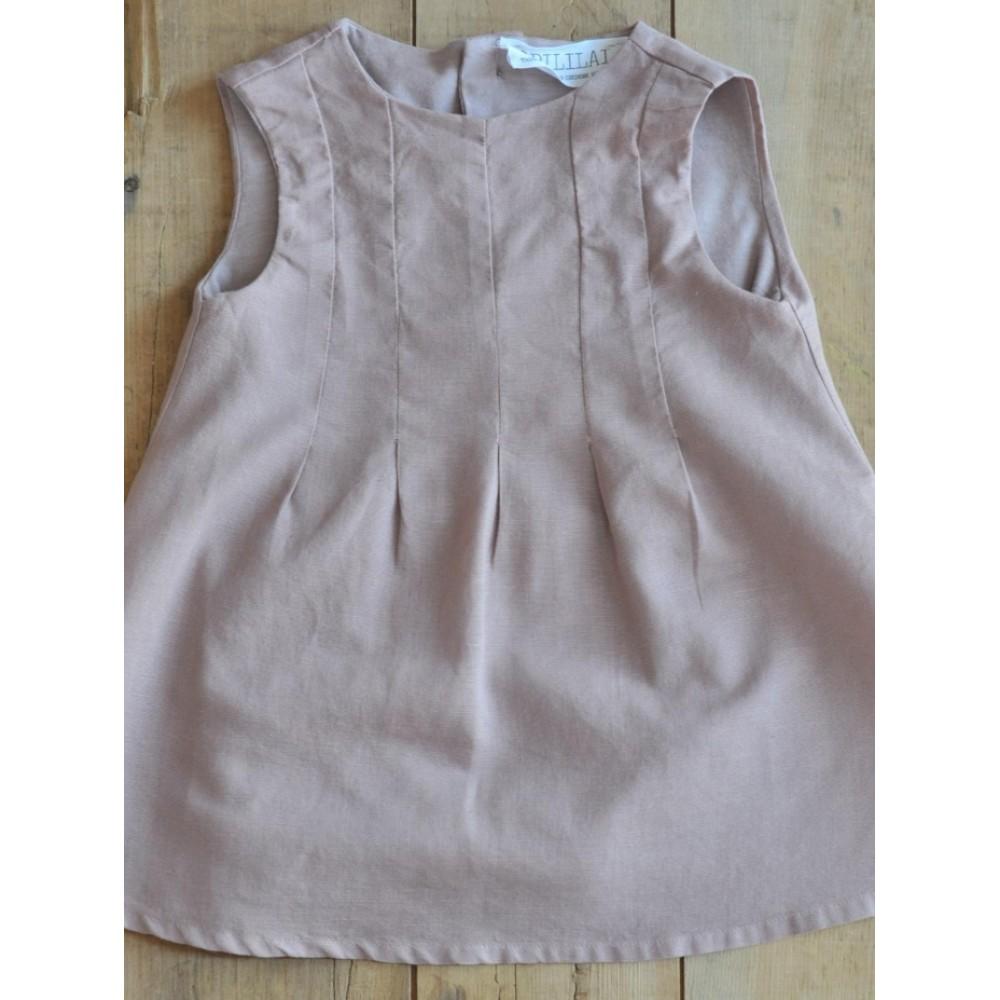 Φόρεμα Bubble Dress in Old Pink