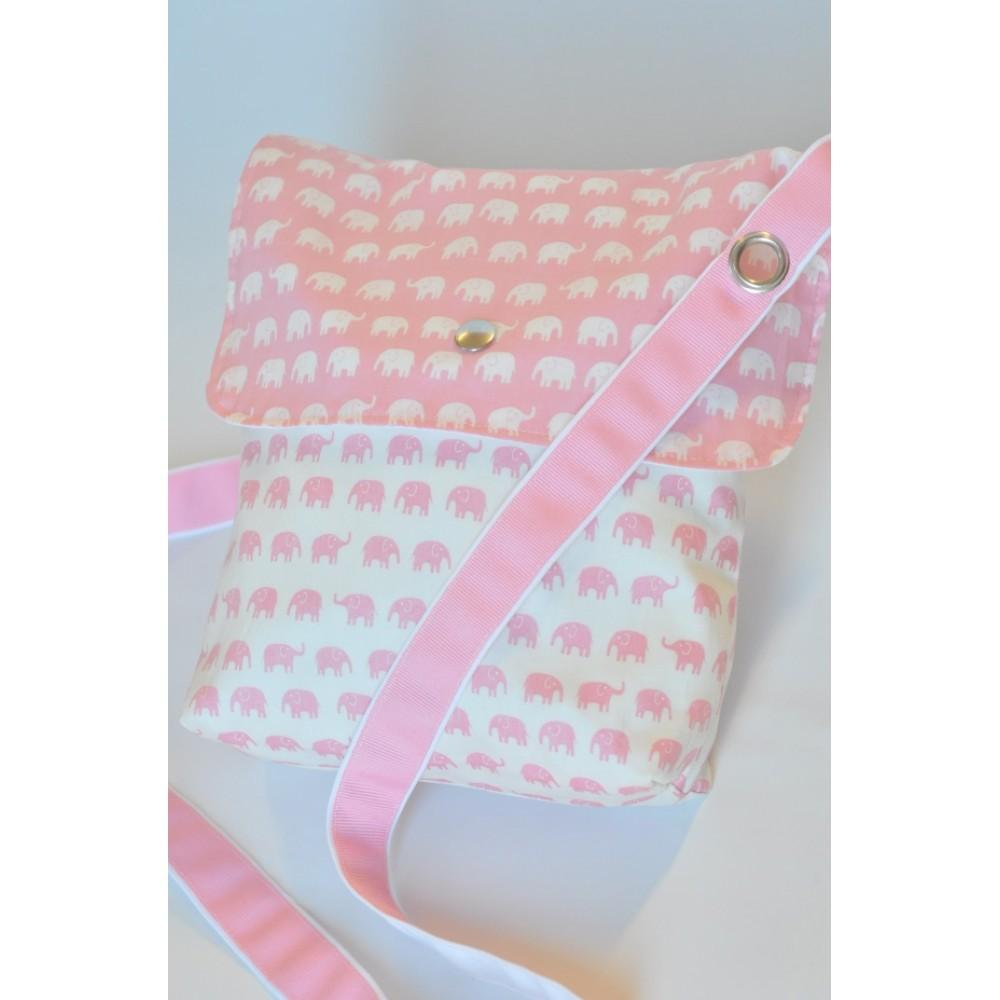 Τσάντα της σούπερ-μαμάς σε ΡΟΖ