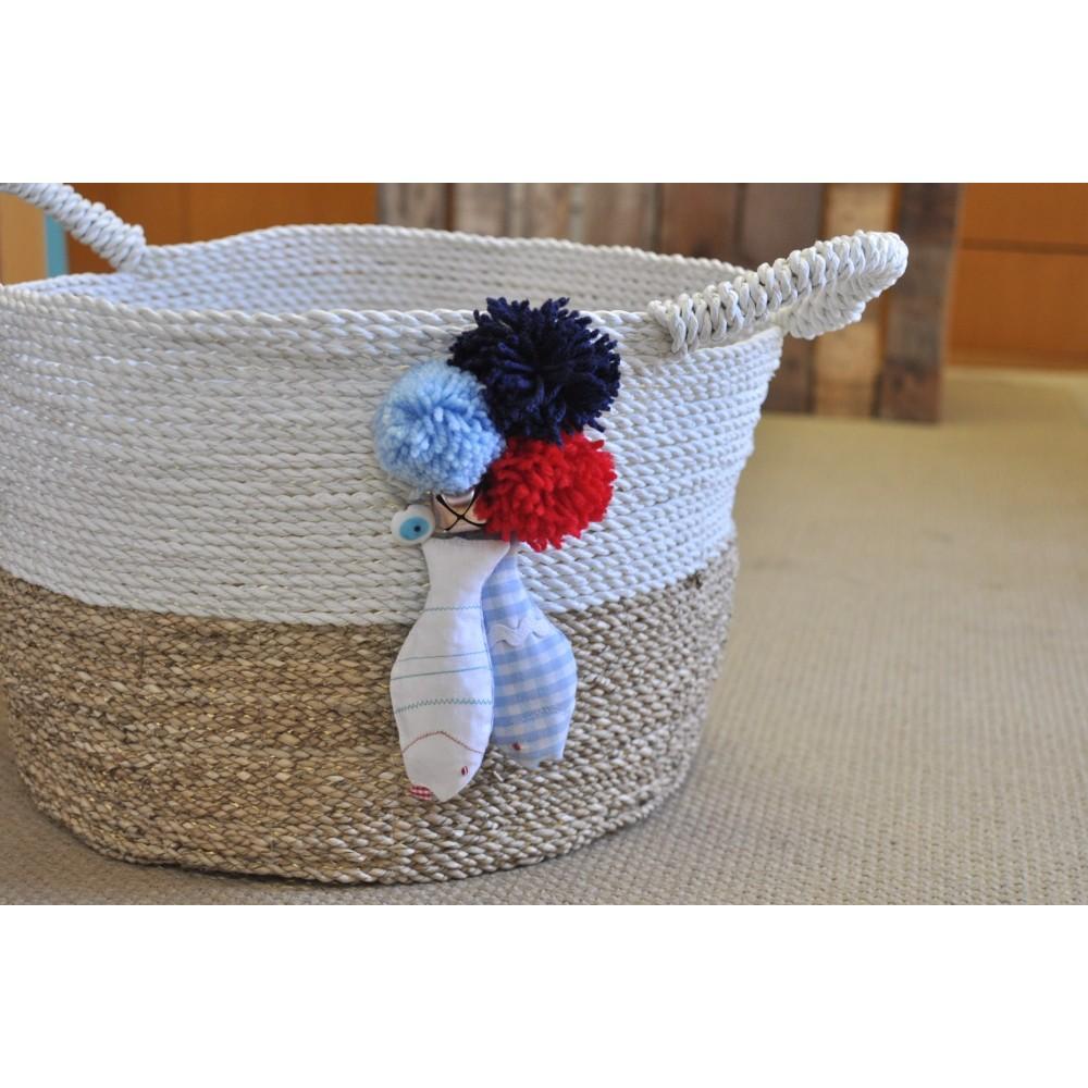 Κουτί Βάπτισης Handmade Basket #2
