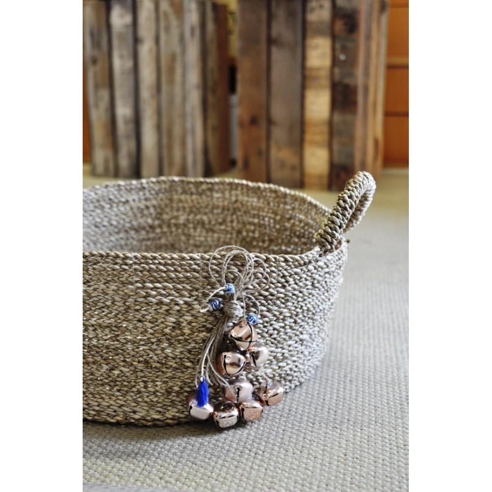 Κουτί Βάπτισης Handmade Basket #4