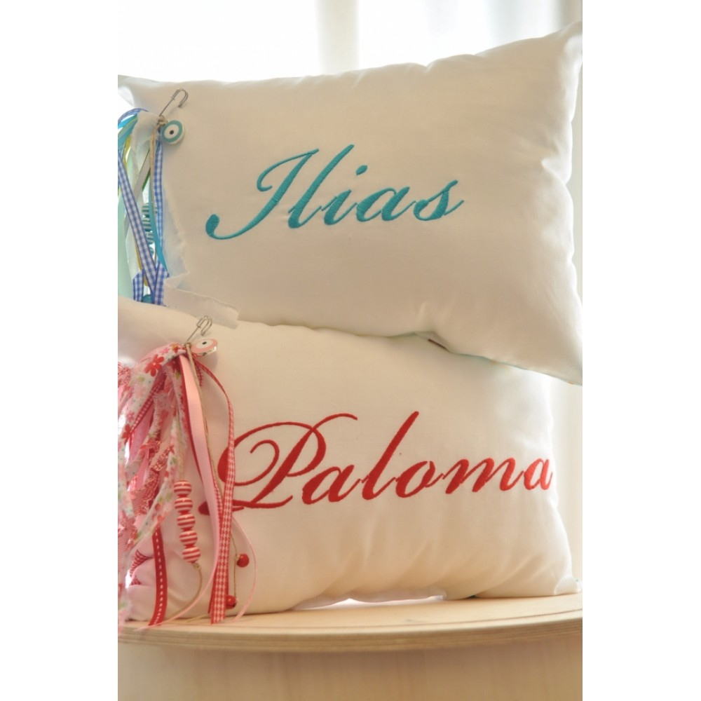 Custom Embroidered Pillows